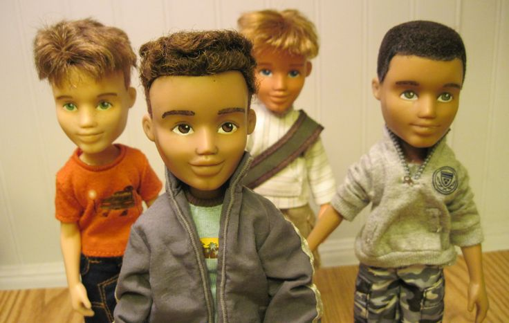 Bratz Transformed into Just Kids boy Bratz by TheWoodsSecretGarden