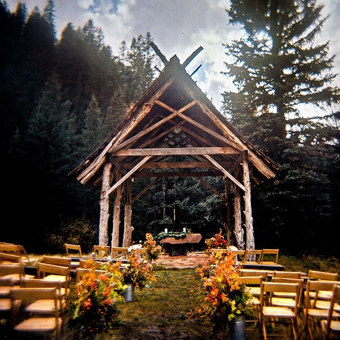 According to Brides.com,  Dunton Hot Springs, in the San Juan Mountains is now a small resort that is perfect for your elopement or small wedding.   duntonhotsprings..com