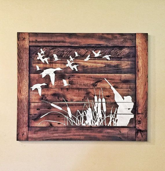 Vintage Wooden Signs Home Decor: Best 20+ Hunting Crafts Ideas On Pinterest
