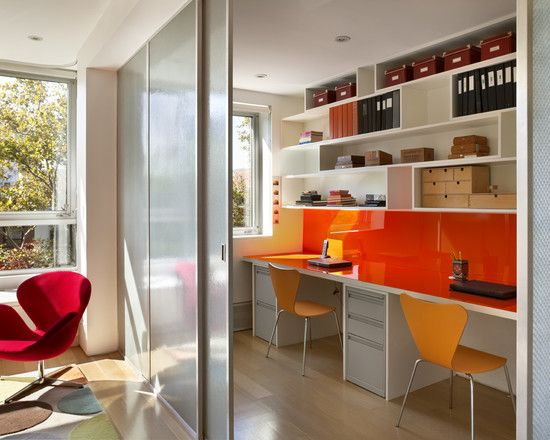 Home Office For Two Design, Pictures, Remodel, Decor And Ideas   Page 12