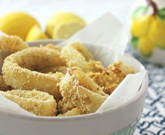 """Calamari """"fritti"""" al forno, super light!"""