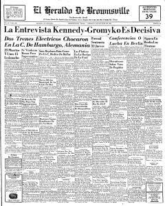 El Heraldo de Brownsville - Brownsville, Texas - Oct 6 1961