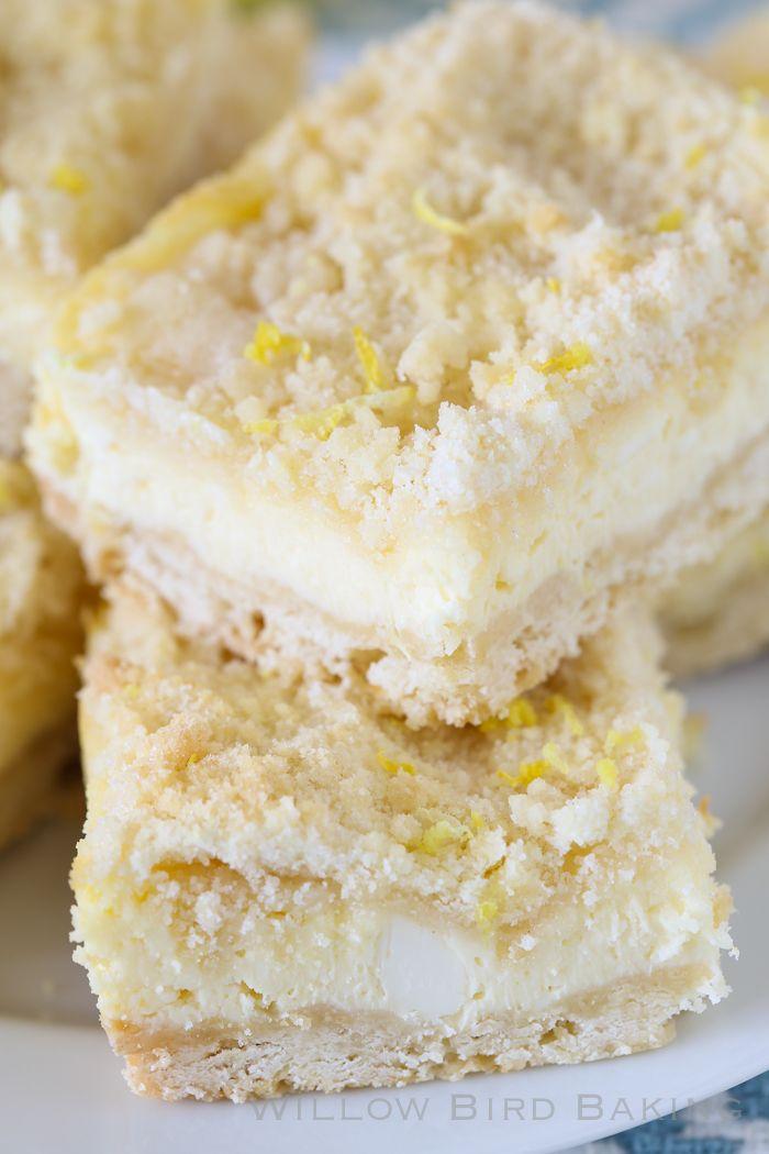 Lemon Shortbread Crumble Bars: The ULTIMATE Lemon Lover's Dessert!