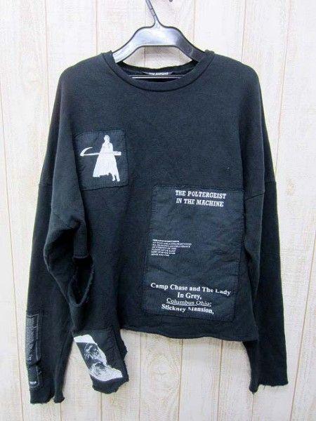 patchwork jumper (it sz 44) • raf simons  16,500 円