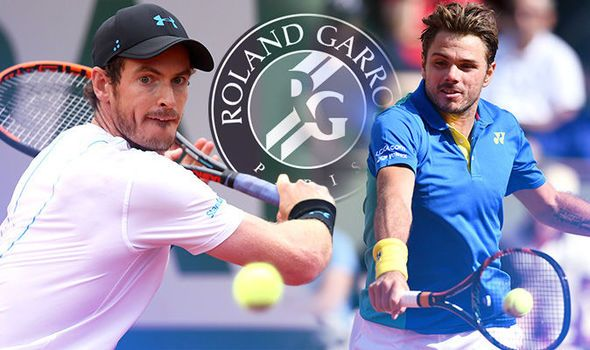 Andy Murray v Stan Wawrinka LIVE: Latest French Open updates from Roland Garros