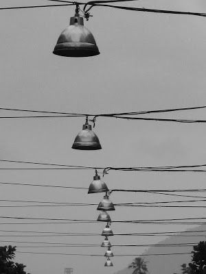 A Row of Lamps