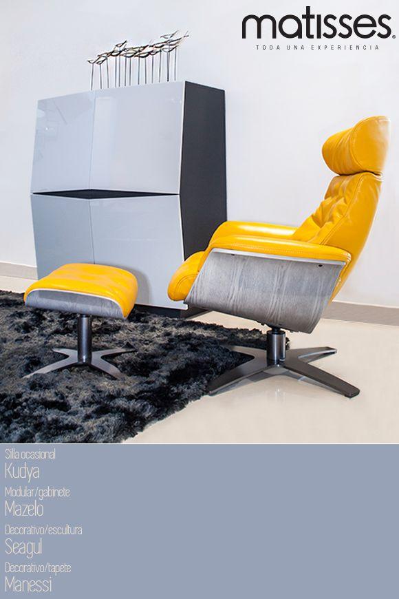 Para espacios que evoquen descanso, el mobiliario Matisses será tu mejor aliado. Sillas que se acomodan a tus necesidades.