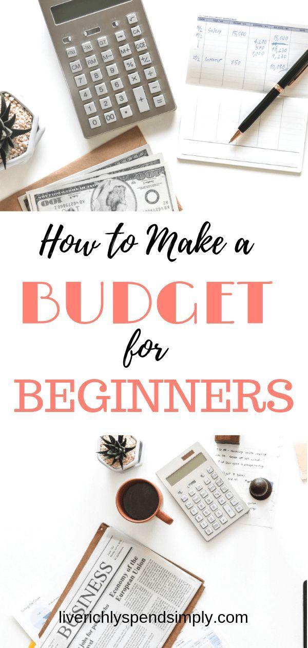 Wie ein Budget in 7 einfachen Schritten zu machen! #budget #createabudget #frugalliving   – Home Sweet Home