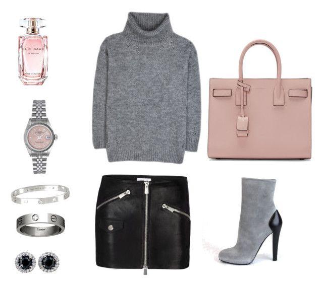 """Unbenannt #3"" by fashionbible99 on Polyvore featuring Mode, Yves Saint Laurent, Posh Girl, Cartier, Rolex und Elie Saab"