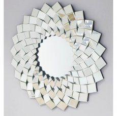 """Round """"Klido"""" Style Wall Mirror 100 cm"""