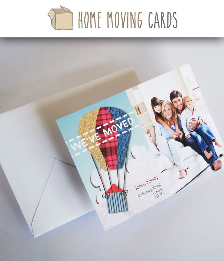 10 best Change of Address Cards Photo Templates images on - change of address templates