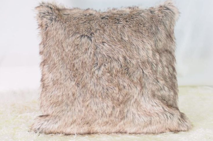 Daylan Faux Fur Cushion - Pin for Inspo!