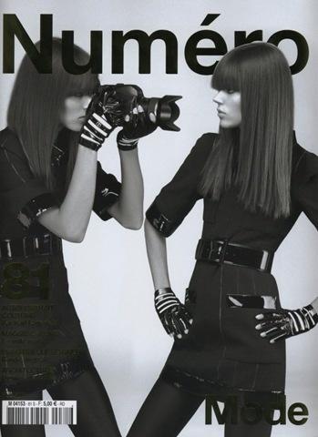 Numéro, Karl Lagerfeld mode.