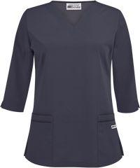 UA Best Buy Scrubs 3/4 Sleeve Scallop Neck Top