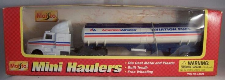 Maisto 2000's Highway Haulers American Airlines Aviation Fuel