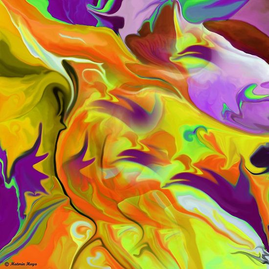 ABSTRACT64 wall art/ T-shirt + IPhone Cases + iPad Cases+Throw Pillows+Tote Bags+Mugs
