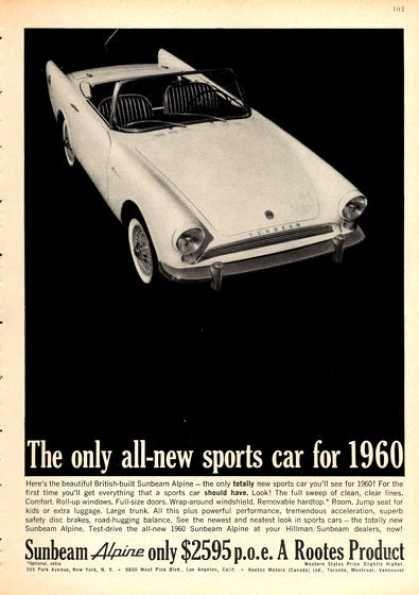 Sunbeam Alpine Sports Car (1960)