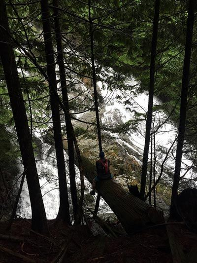 The hike to Kennedy Falls in North Vancouver has several key selling points, including being relatively unknown and having a few incredible landmarks.