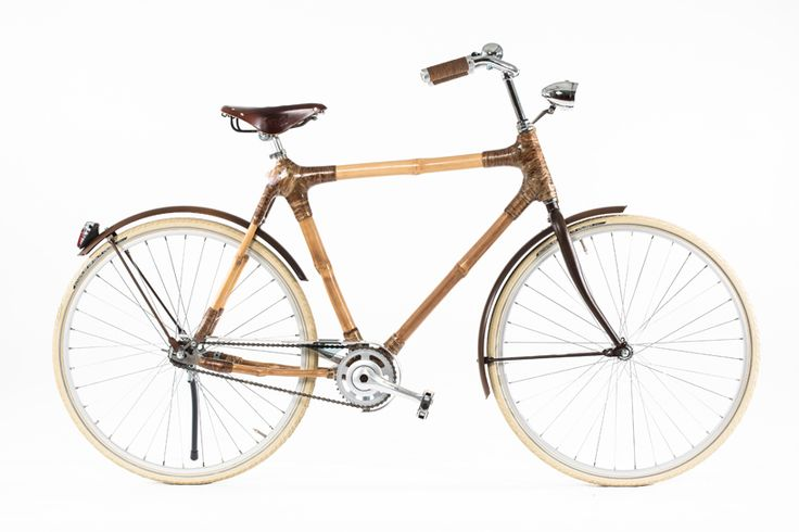 Bamboo bikes by Blackstar. Handmade in Ghana from local bamboo. This is not your high tech bamboo bike but it is charming.