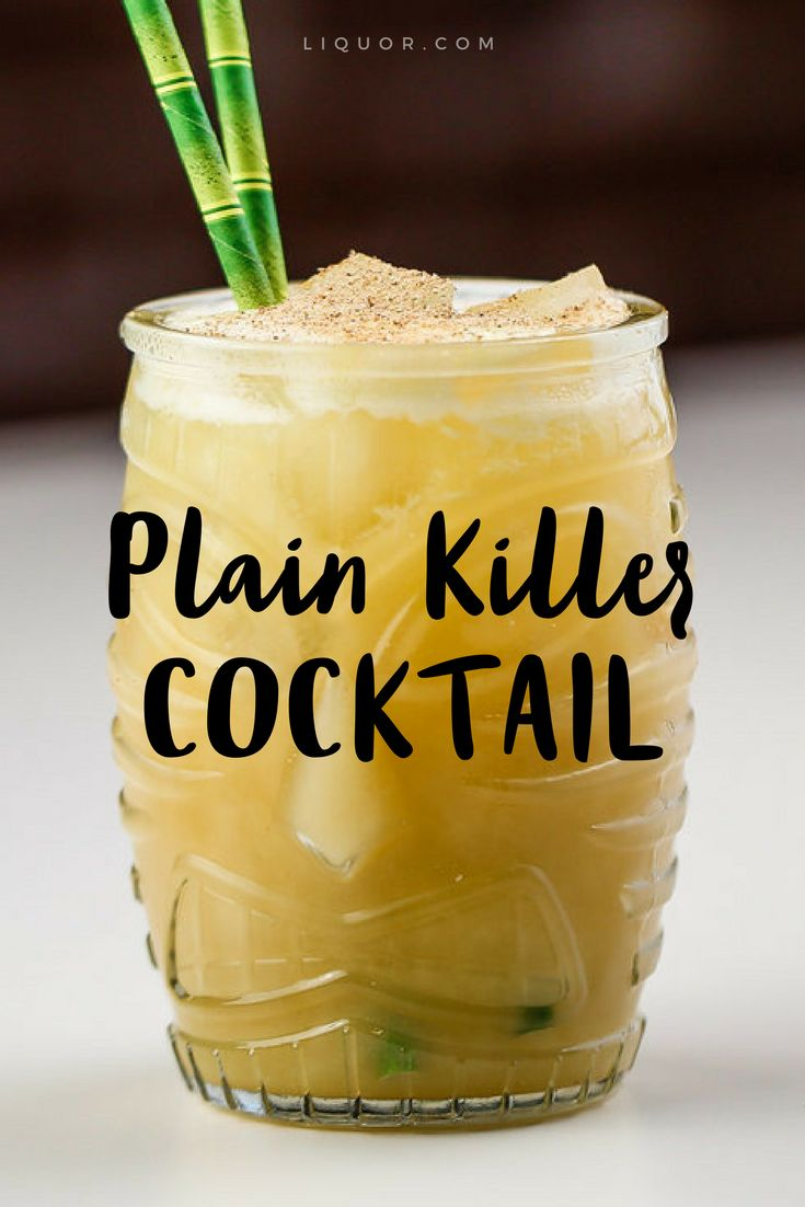 Buy a one ways ticket out of town with this #tiki #cocktail
