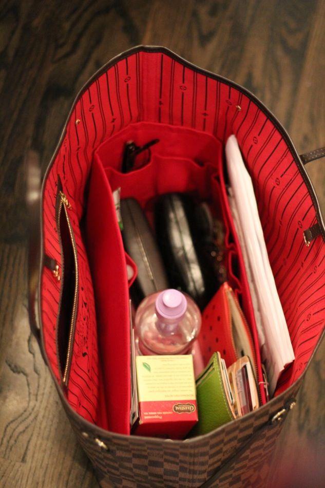Veronika's Blushing: Worth It: Bag Organizers