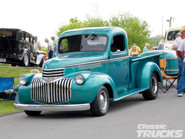 Pinned by http://FlanaganMotors.com. 1946 Chevrolet 1/2-ton