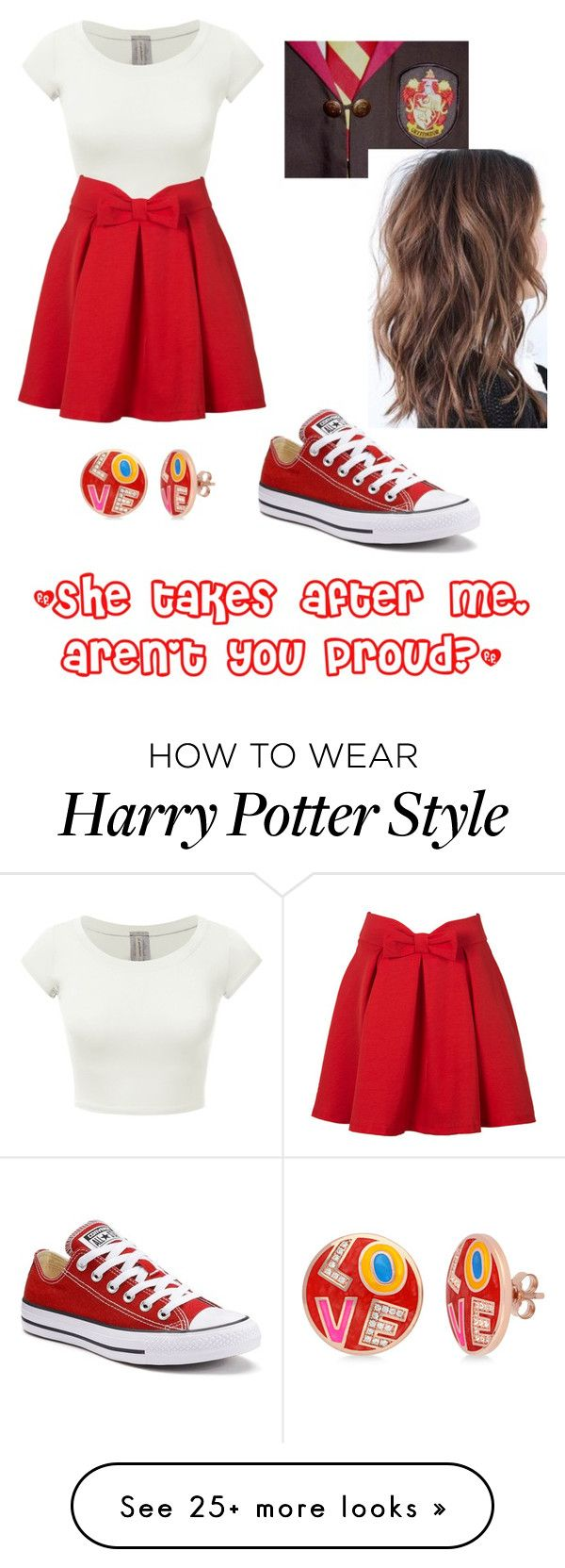 """Valentine's Day: Lauren"" by laughlivedream on Polyvore featuring Converse and BERRICLE"