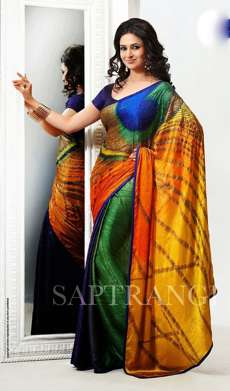 Divyanka tripathi beautiful #printedsaree #georgettesaree #indiansaree #sareeonline #onlineshopping #weddingshopping #indianwedding #indianethnicwear #womenfashion for booking it online please visit www.baawli.com or to directly place orders please contact or what app on 9870725209 SHIPPING ALL OVER INDIA FREE