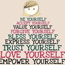 """Energy Therapy """"Be yourself. Accept yourself. Value yourself. Forgive yourself. Bless yourself. Express yourself. Trust yourself. Love yourself. Empower yourself.""""  https://www.energytherapy.biz"""