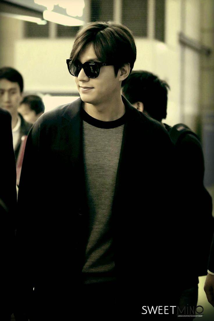 Lee Min Ho at Incheon International Airport and Ninoy Aquino International Airport - 24.02.2015