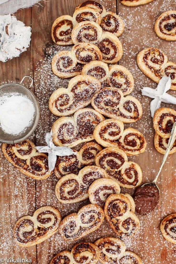Nutella ja Hasselpähkinä Palmiers