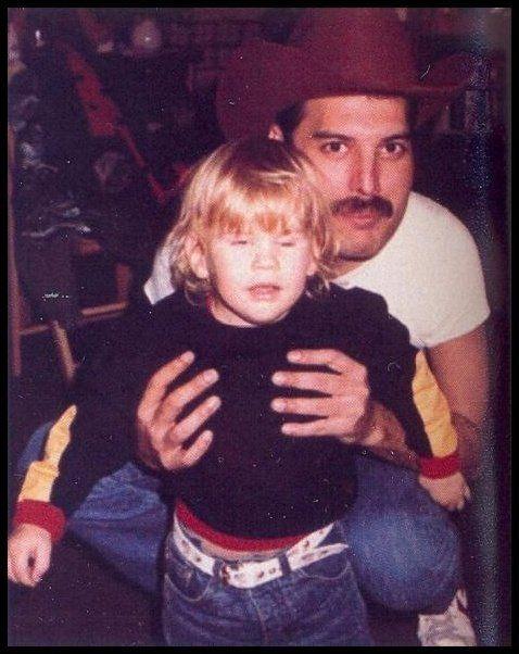 Freddie with John's son