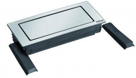 The Backflips mounting depth is 53 mm only, allowing installation on top of a drawer or other devices. *** In Stock *** EVOlineStore, HET online verkoopkanaal voor ALLE EVOline producten.