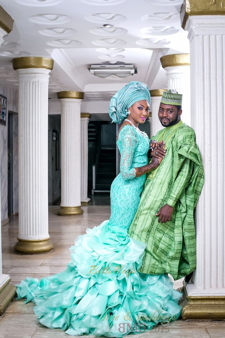 Mimi and Nas Hausa Muslim Wedding in Nigeria ~African fashion, Ankara, Kente, kitenge, African women dresses, African prints, African men's fashion, Nigerian style, Ghanaian fashion ~DKK