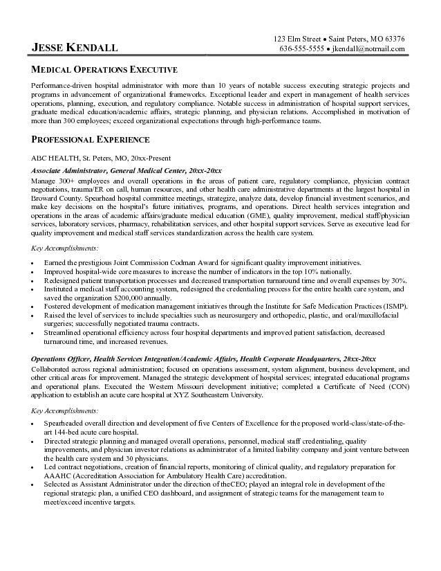 Healthcare Resume Objective Exles 28 Images