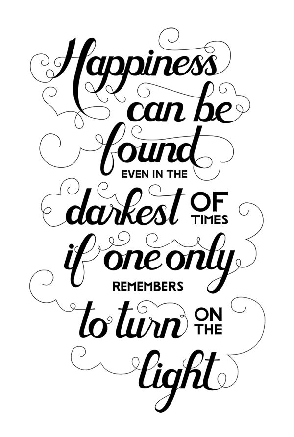 Can't Go Wrong With a Harry Potter Quote by Jessie Wyatt, via Behance