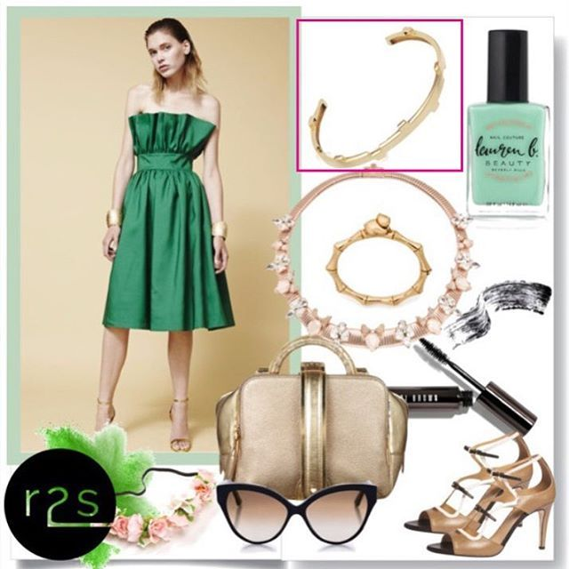 Get inspired with the one and only Legoo Bracelet! ✨ @afewjewels @runway2street  #jewelry #gold #weekend #design #inspiration #fashion #style #legoobracelet #legoo #accessories #inspired #beautiful #amazing #sunday #green #color #r2s