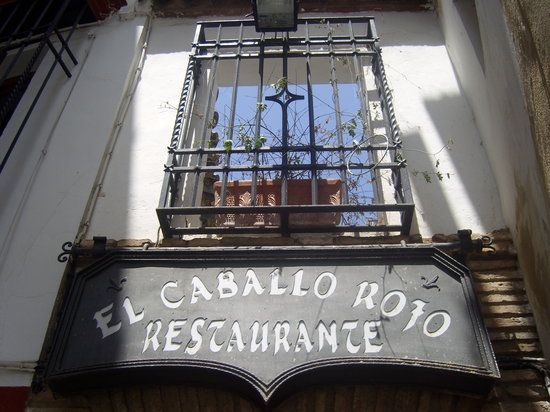 El Caballo Rojo, Cordoba [Moorish cuisine]