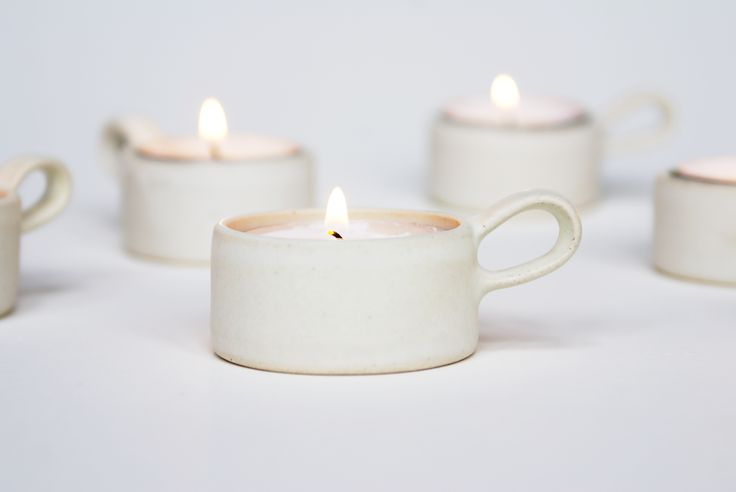 Evelina Blomquist - stoneware candle holder