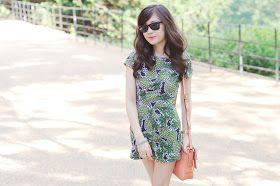 Pineapple print summer trend, pineapple playsuit, uk fashion blog