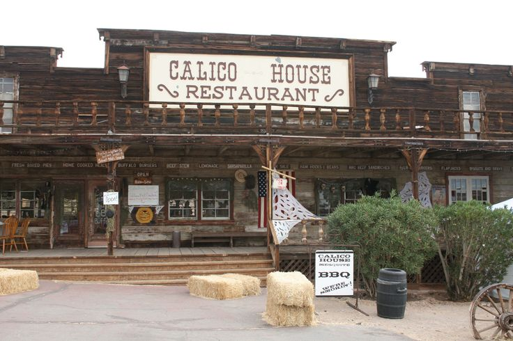 Calico Ghost Town - 2 hrs away from Vegas.  October festival Calico House Restaurant