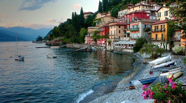 Włochy Jezioro Como (Flickr Valentino Polonia)