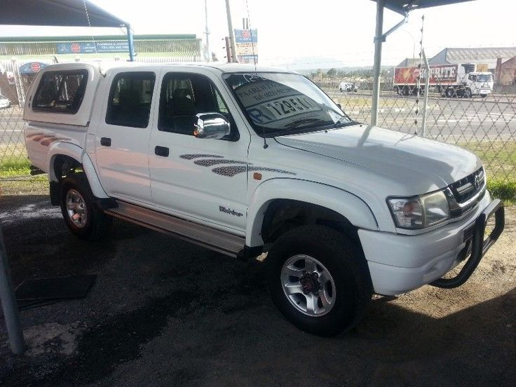 Excellent condition/ White with grey interior / tow bar / Air conditioning / Power steering /mag wheels /Roll bar / nudge bar / Rubberised loadbody.Refinance your current vehicle to have some cash in hand and pay a lower installment.Finance available and trade-ins welcome.Private to private finance also available here.Call : 0727985898 Gillmore