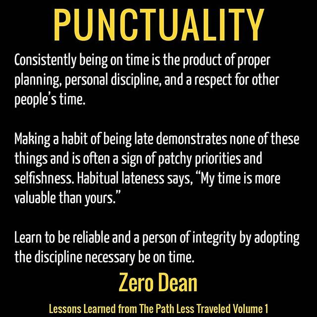 Get Zero Dean S Book On Amazon Habitual Lateness Says My Time