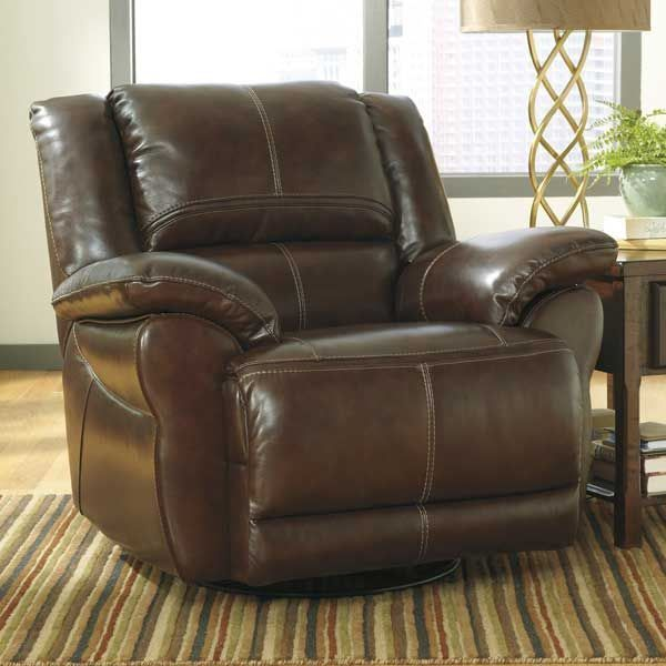 Picture Of Coffee Power Swivel Rocker Recliner Signature Design By Ashley Power Recliners Swivel Rocker Recliner Chair