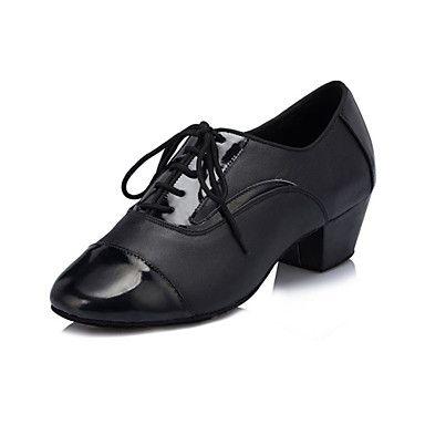 Sapatos+de+Dança+(+Preto+)+-+Homens+-+Não+Personalizável+-+Latim+–+EUR+€+43.11