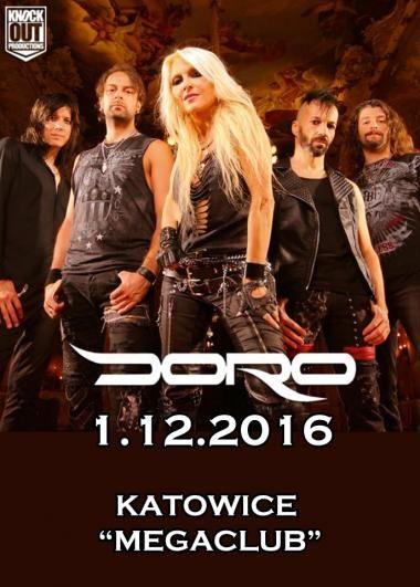 Galeria z koncertu DORO-> http://heavy-metal-music-and-more.blogspot.com/2016/12/doro-zagraa-koncert-w-katowicach-galeria.html #Doro #metal #metalqueen #heavymetal #concert #photography