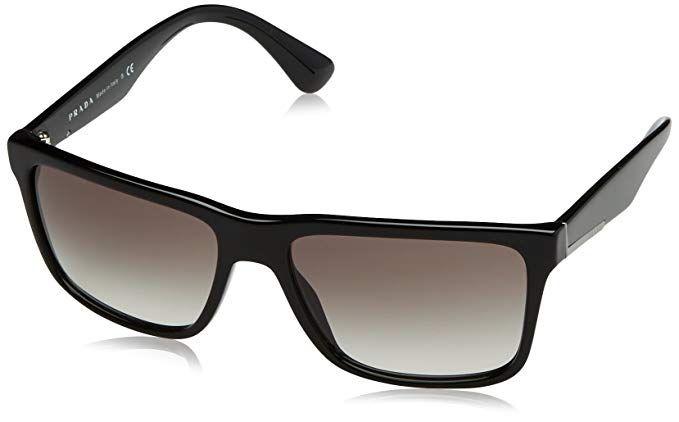 d67a8334f42e Prada Men s 0PR 19SS Black Grey Gradient