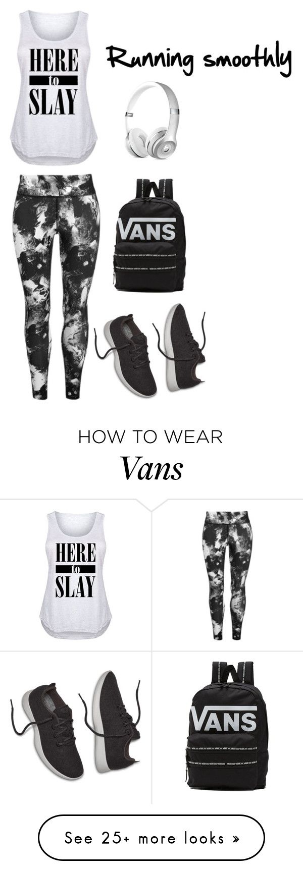 """Untitled #387"" by zoejohanna on Polyvore featuring USA Pro, Vans and plus size clothing"