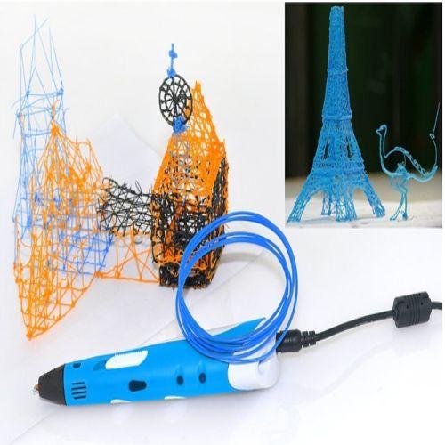 Bu kalemle 3 boyutlu şekiller oluşturabilirsiniz. Kullanımı kolaydır.İstediğiniz yüzeyde modeller oluşturabilirsiniz.Çocuklarınızı tasarıncı kimliğini ortaya çıkarmaya yarayan bu inanılmaz 3D Kalem 3 Boyutlu Çizim Kalemi sanat gelişimlerine ve el becerilerine katkıda bulunacaktır.